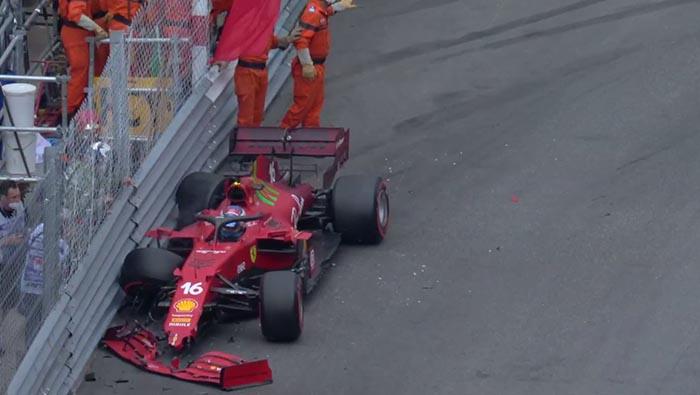 Leclerc autója új váltót kap?