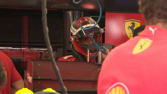 Sainz Ferrariját vizsgálja az FIA