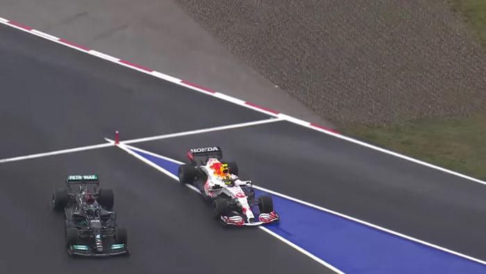 Az FIA ezért nem vizsgálata a Perez-Hamilton csatát